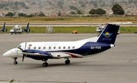 O avião da Air Guicango