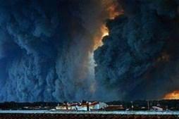 Incêndio lavra na Sertã
