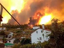 Incêndio na localidade do Troviscal, Sertã