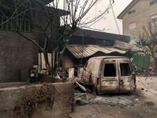 Incêndio em Oliveira do Hospital foi devastador