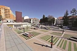 A Praça Luís de Camões, no centro da cidade, é um dos locais a visitar no concelho de Gondomar
