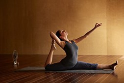 5 – Enquanto se faz ioga