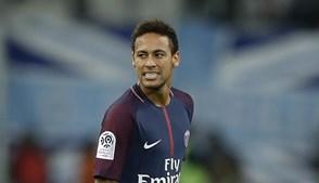 Neymar, jogador do PSG