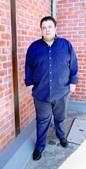 O fadista antes da dieta com 135 kg
