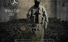 Ronaldo em cartaz do Daesh de ameaça ao Mundial 2018