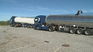 Camiões-cisterna abastecem Viseu com água