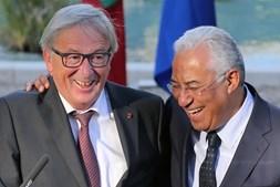 Juncker e António Costa