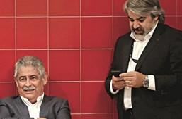 Luís Filipe Vieira (presidente do Benfica) e Paulo Gonçalves (assessor jurídico da SAD)