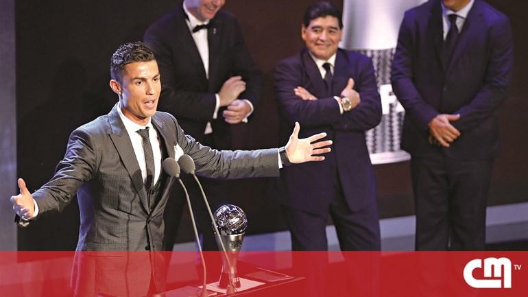 847b030e1d Cristiano Ronaldo já é  penta  no melhor do mundo - Desporto ...