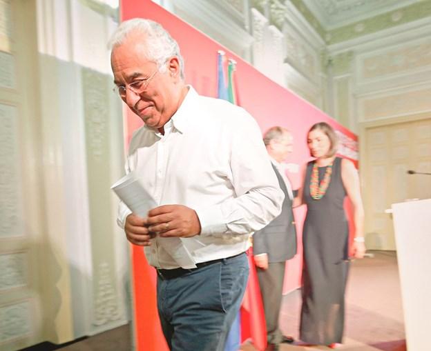 António Costa cantou vitória  e acabou a noite como o grande vencedor
