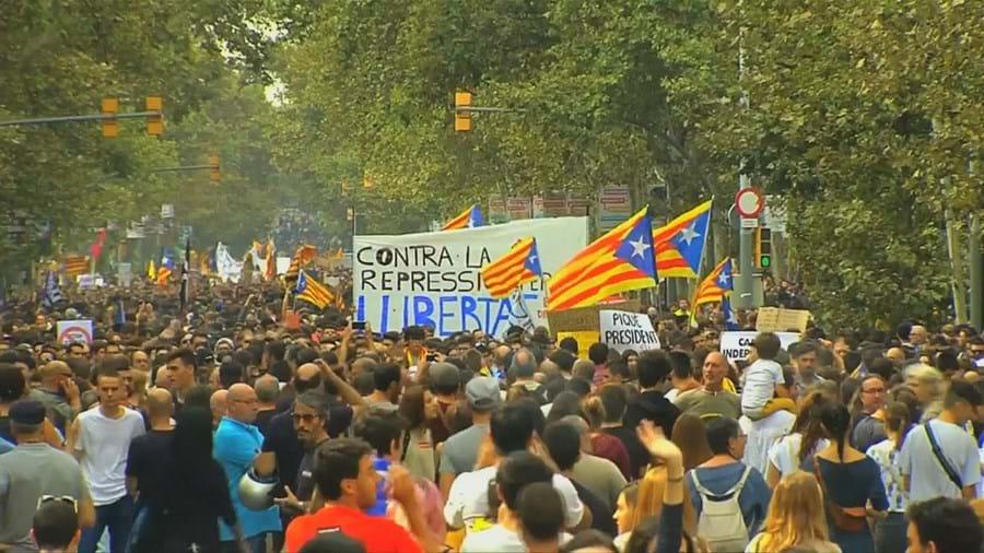 Catalunha avança para a independência