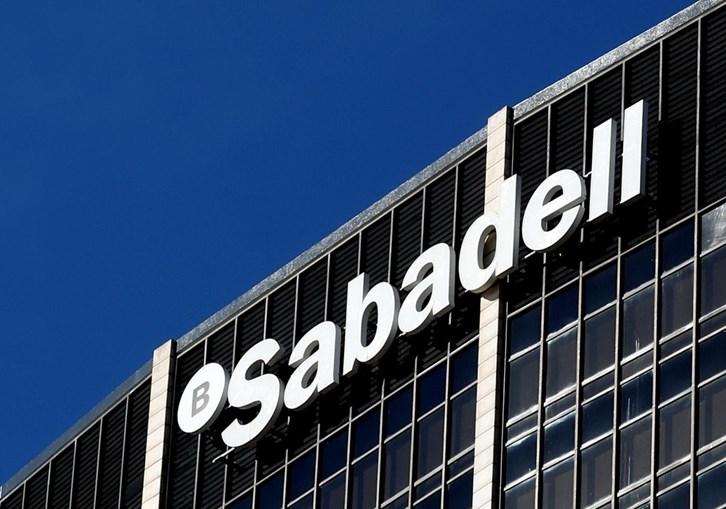 A sede do banco Sabadell, em Barcelona