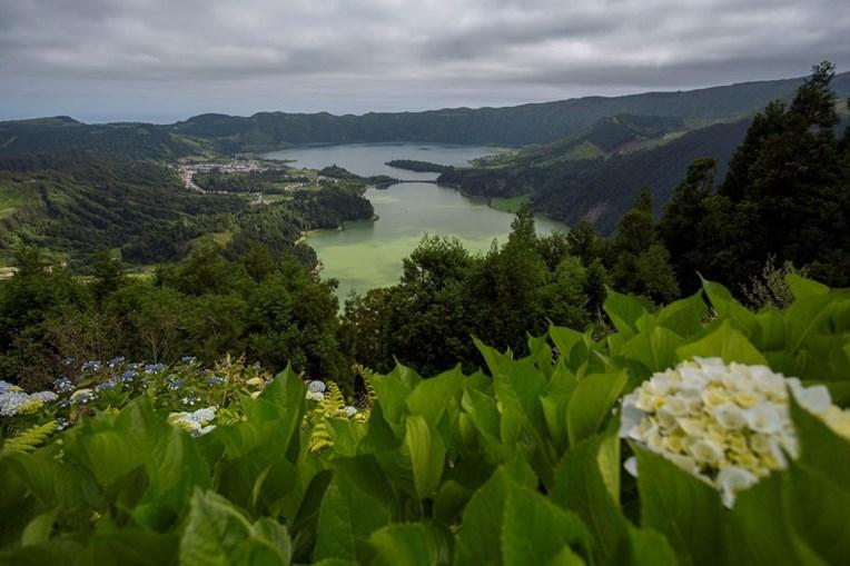Lagoa das Sete Cidades, na ilha de São Miguel