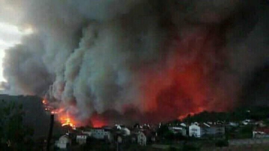 Incêndio na Sertã