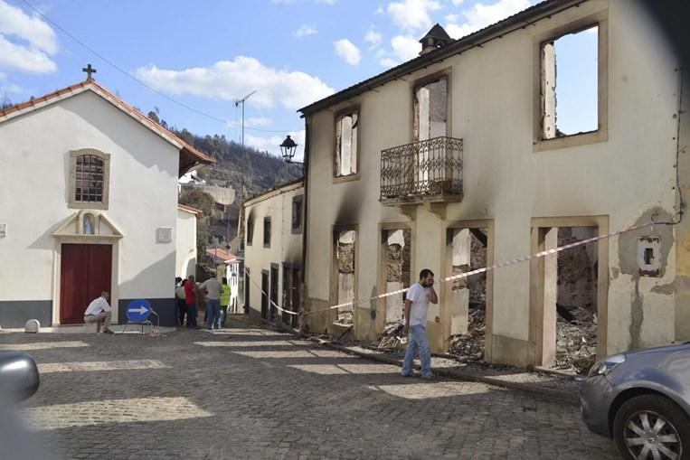 Fogo destruiu 70 casas e 15 mil hectares de floresta em Oleiros