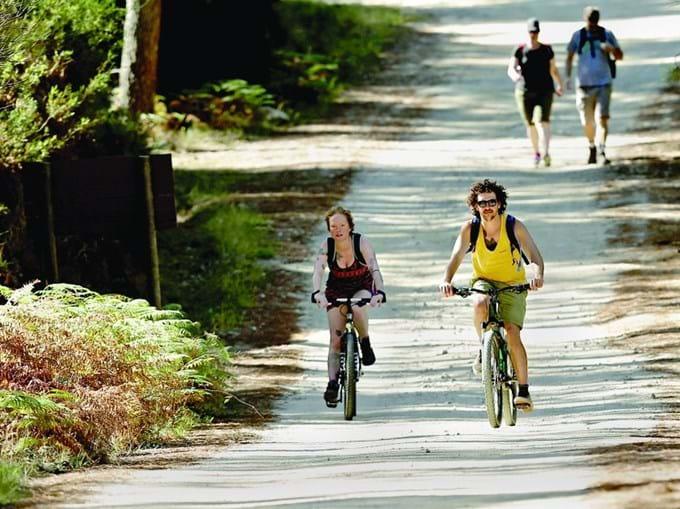 Percurso ideal para fazer a pé ou de bicicleta