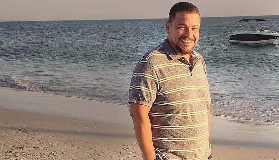Ricardo Ribeiro pesa hoje 93 quilos
