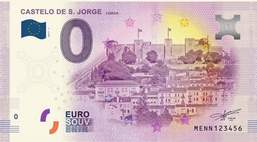 Portugal passa a ter notas de zero euros para recordação de turistas e colecionadores