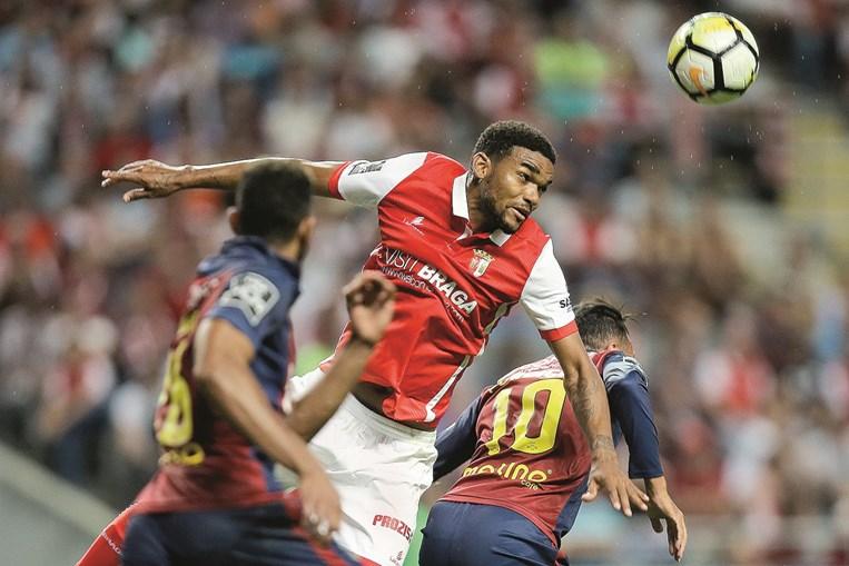 Bruno Viana marcou ontem o único golo da partida. Braga é quarto na Liga, atrás dos três grandes