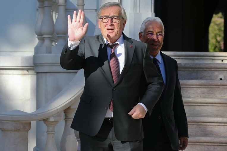 Jean-Claude Juncker em Portugal