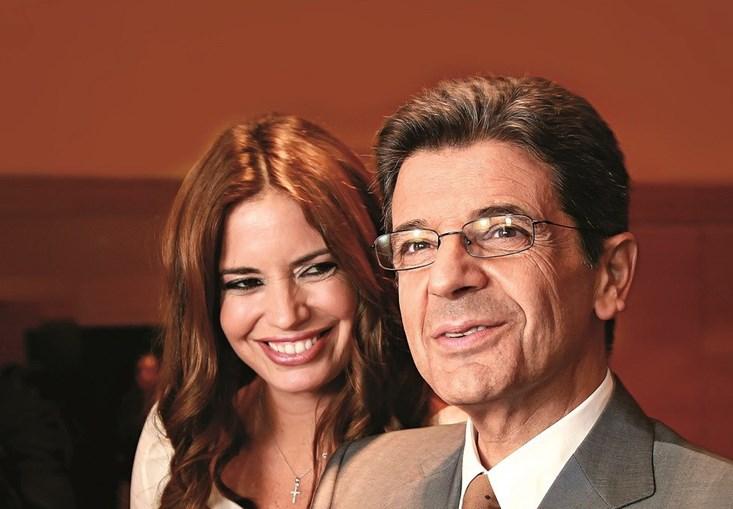 Bárbara Guimarães e Manuel Maria Carrilho