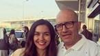 Sara Barradas vive situação constrangedora após pensarem que José Raposo era seu pai