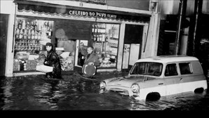 Há 50 anos, cheias fizeram mais de 500 mortos em Lisboa