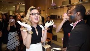Recorde a passagem de ano de Celeste Rodrigues com Madonna