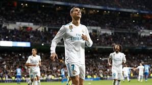 Cristiano Ronaldo dedica golo à família