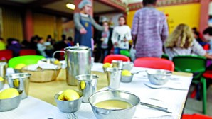 Escolas querem cozinhar refeições dos alunos