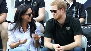 Príncipe Harry e a noiva são primos