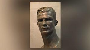 Há um novo busto de Cristiano Ronaldo e desta vez agrada os fãs