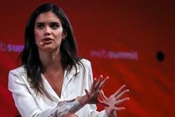 Sara Sampaio na Web Summit 2017, em Lisboa