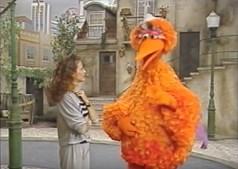 Alexandra Lencastre interpretou a personagem Guiomar na versão portuguesa da 'Rua Sésamo'
