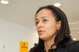 A empresária Isabel dos Santos