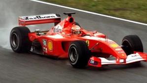Ferrari de Schumacher vendido por 6,3 milhões