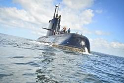 O submarino argentino San Juan