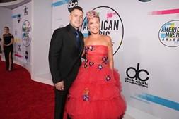 Pink e o marido Carey Hart