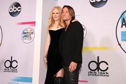 Nicole Kidman e o marido Keith Urban