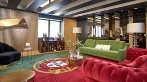 Tapete com bandeira de Portugal em hotel do Porto gera polémica