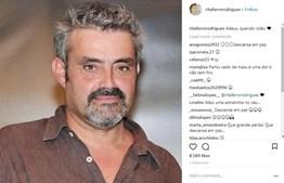 Rita Ferro também não deixou de assinalar a morte de João Ricardo