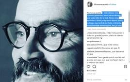 Filomena Cautela deixou mensagem de despedida a João Ricardo no Instagram