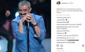 Dânia Neto partilhou imagem sorridente de João Ricardo