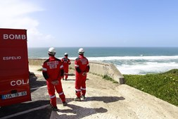 Corpo foi encontrado na praia da Aguda em Sintra