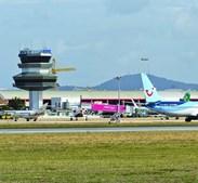 Aeroporto ativou alerta amarelo