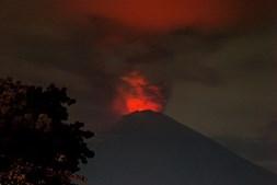 Vulcão em Bali