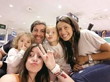 Bruno de Carvalho e a família