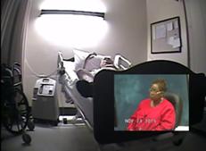 enfermeiros, doente, agonia, morte, EUA, Atlanta, Georgia