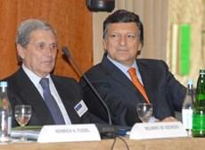 Belmiro de Azevedo em 2006 com Durão Barroso