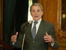 Belmiro de Azevedo no Grémio Literário, em 2005